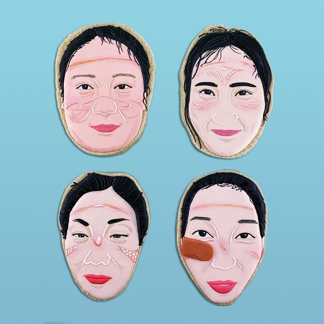 "Baker Jasmine M. Cho has been using ""cookie activism"" to raise Asian representation, like these Wuhan nurses with facial scars from the masks they wore."